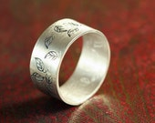 Autumnal Ring -  Sterling Silver - Custom for Seb