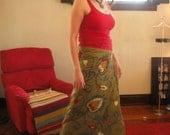 Embroidered Wrap Skirt - Adult Size Medium-Large