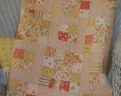 Scrappy Baby or Toddler Quilt Using Four FIG TREE Quilts Collections