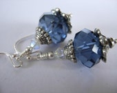 True Blue and silver too...  earrings