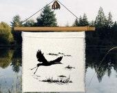 1 Little Prayer - Crane - Heron - Japenese Folk Poem - Folk Poem - Haiku - wetlands