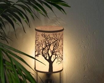Night Light (Tree)-Decor lighting-Winter Trees silhoutte lighting-silhoutte lighting-quiet lighting-baby's room night light-woodland light