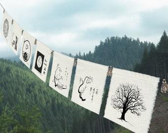 7 group prayer flags (Earth)