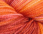 NEW COLOR - MARILYN (Candles Flame) Dizzy Blonde Superwash Sock