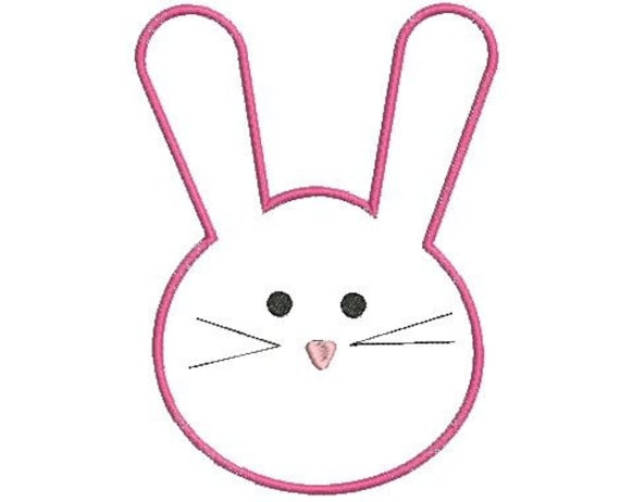 easter bunny head template - photo #47