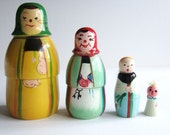 Unusual Polish Nesting Dolls - Matryoshka or Russian Style - kitschandcurious