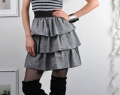 Super Cute Ruffled Dress -size Large