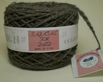 Gray Wool Yarn