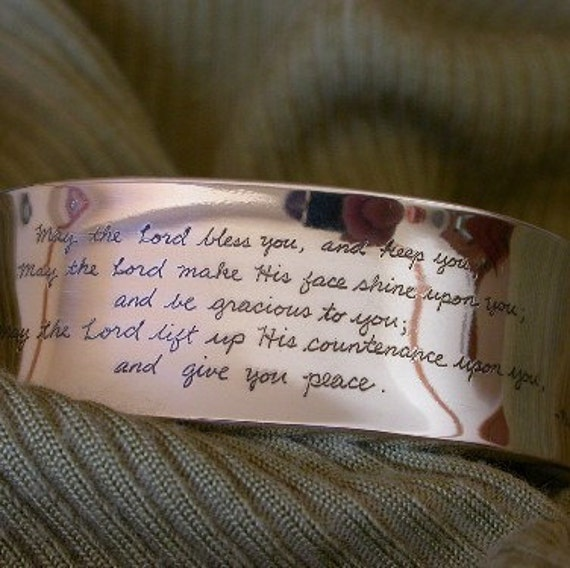 Cuff Bracelet - Priestly Blessing