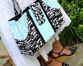 The Pocket Purse - a PDF pattern for a sleek and practical handbag