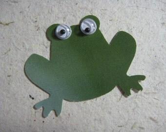 Green Frog Die Cuts