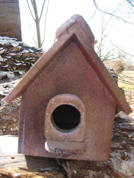 Poppi's Mixed Splatter Birdhouse