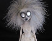 Creepy Gothic Art Doll - Beatrice's Ghost - SALE