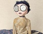 Charlotte - Gothic Victorian Asylum Art Doll