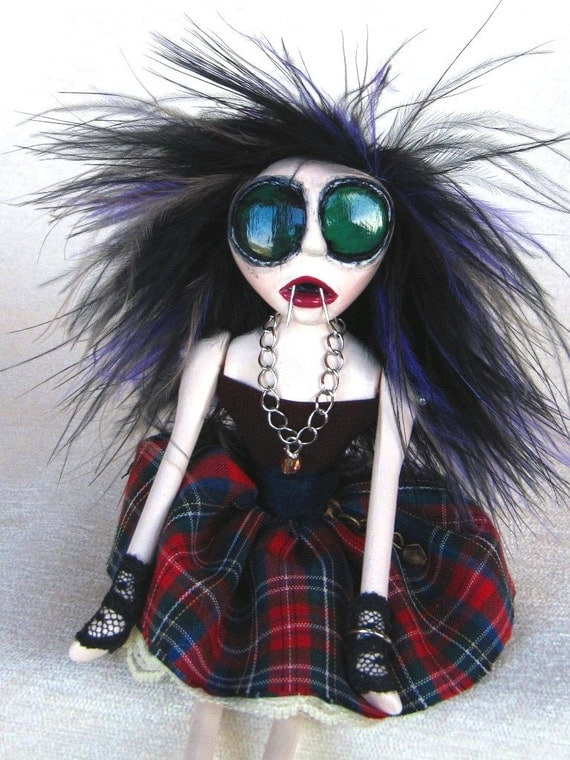 Punk Vampire Art Doll - Patsy