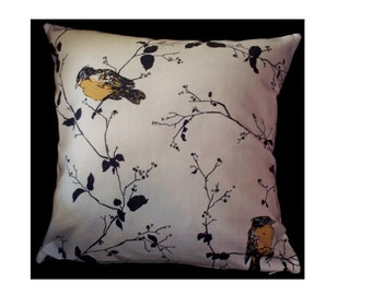 Sweet YELLOW BIRD Pillow