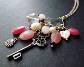 Charm Necklace  - Key to my Heart Necklace by Simple Elements Design