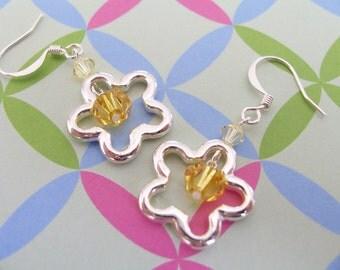 Daisy Frame Earrings