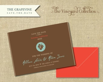 The Vineyard Collection-Grapevine Save the Date