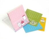 SALE 2011 mini desk calendar