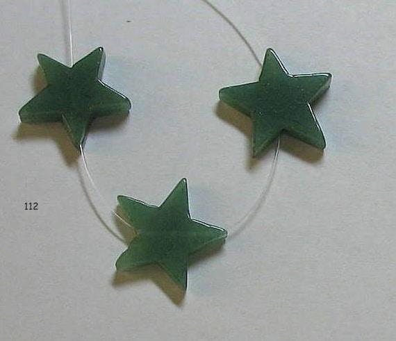 Green aventurine stars