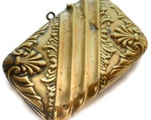 Antique Vesta Case Victorian Art Nouveau