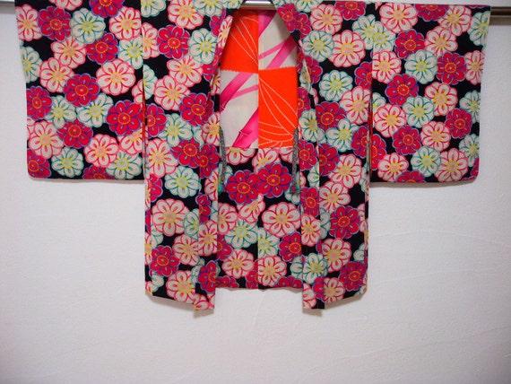 Vintage haori 2003 O, plum design