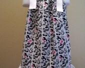 Barbie, pillowcase dress,unique boutique, custom clothes for girls, size 12,18,months, 2t,3t,4t,5,6,7