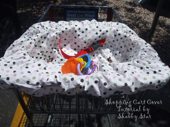 Shopping Cart Cover Tutorial