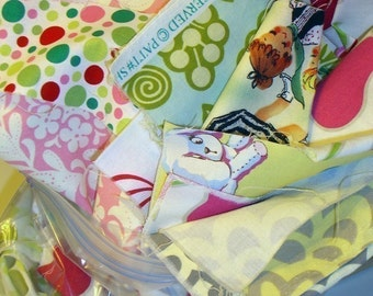 SALE Designer Fabric Scrap Bag- 9.5 oz