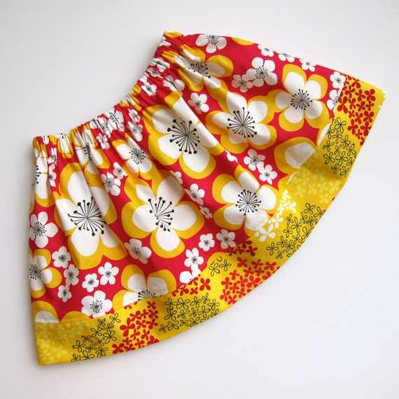 Skirt - ORGANIC cotton - Available sizes: 24 months - 7