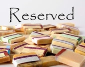 Reserved for Candi