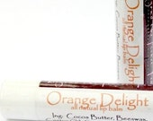 Orange Delight All Natural Lip Balm - BeyondThePicketFence