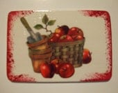 Apples and Flowerpots Magnet