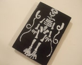 Painted Skeleton Magnet