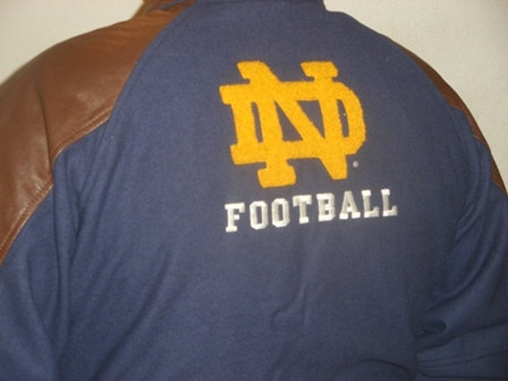 Vintage Notre Dame Football Jacket