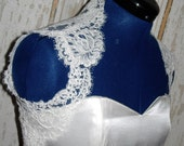 Lace Wedding Shrug - Sleeveless