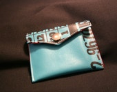 Teal Bingo Coin purse