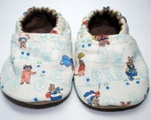 Garden Mice Cloth Baby Shoes