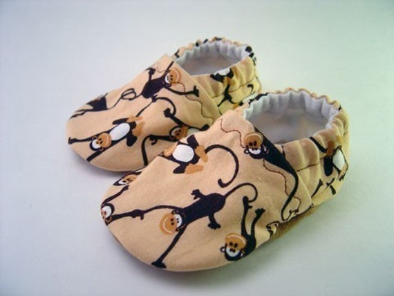 Silly Monkey Cloth Baby Shoes