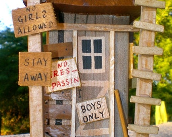 Man Cave BOYS ONLY Keep Out CLUBHOUSE  Room Decor