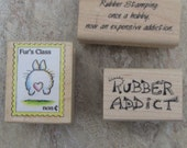 Rubber Sayings- set of 3 stamps
