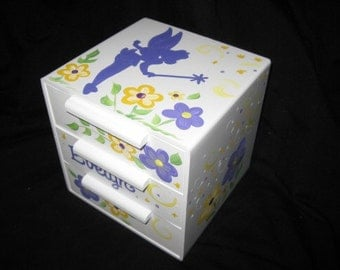 jewelry box bow holder tink inspired