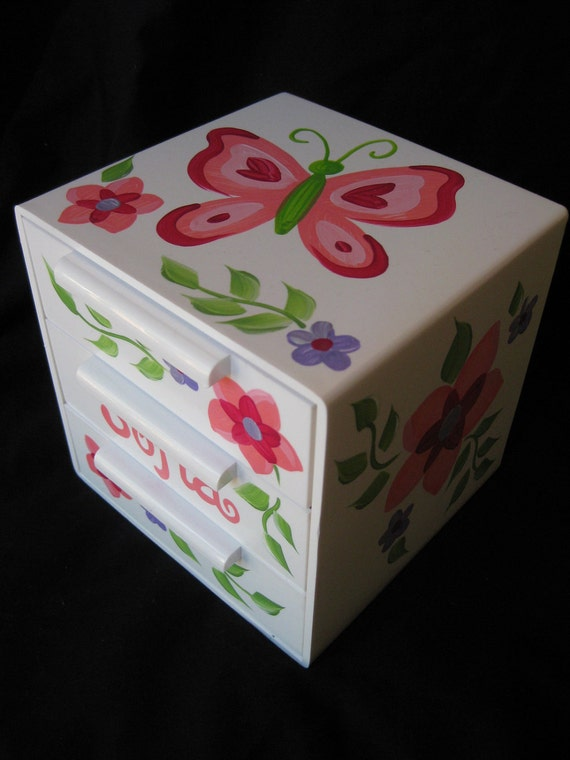 jewelry box bow holder sofia butterfly