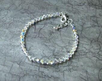 Bridal Swarovski Tennis Bracelet