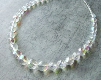 Stepford Faceted Glass Necklace