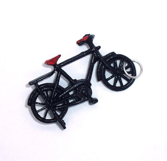 BICYCLE pendant charm .... dimestore