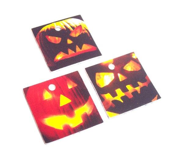 Jack O Lantern (Pumpkin) Charms 3PCs (BP1011) ... shop closing sale