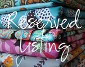 Reserved listing for amiejdesigns