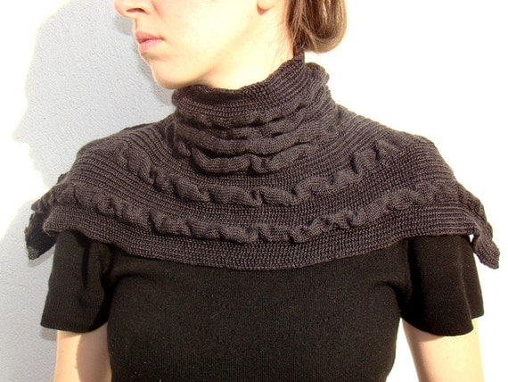Neck warmer romatic and soft